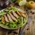 salade · gegrilde · kip · eenvoudige · heerlijk · noten · appels - stockfoto © peteer