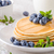 American pancakes with blueberries stock photo © Peteer