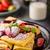 tatlı · peynir · çilek · krem · meyve · tatlı - stok fotoğraf © peteer
