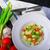 шпинат · чеснока · помидоров · фото · реклама · продовольствие - Сток-фото © peteer