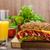 baguette · ahumado · rústico · picante · queso - foto stock © peteer