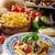 abobrinha · delicioso · fresco · ervas · comida - foto stock © peteer
