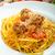 spaghetti · salsa · di · pomodoro · carne · ristorante · palla - foto d'archivio © peteer