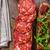 rústico · baguette · hierbas · chorizo · salsa · de · tomate · caliente - foto stock © peteer