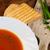macarrão · sopa · de · tomate · cozinha · italiana · azeite · alho · manjericão - foto stock © peteer
