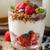 framboesa · colher · iogurte · sobremesa · framboesas - foto stock © peteer