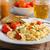 jajecznica · zioła · chleba · domowej · roboty · żywności - zdjęcia stock © peteer