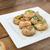 mushroom salad with toast stock photo © peteer