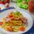 tocino · huevo · brindis · pan · frito · anuncio - foto stock © peteer