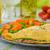 jamón · tomate · verde · ensalada · beber · vida - foto stock © peteer