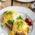 yumurta · küçük · salata · süt · taze · otlar - stok fotoğraf © Peteer