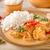Índia · manteiga · caril · de · frango · fundo · carne · cozinhar - foto stock © peteer