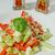 sajt · levél · saláta · tányér · izolált · fehér - stock fotó © peteer