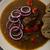 eredeti · cseh · marhahús · vöröshagyma · forró · chilli - stock fotó © peteer