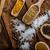 variatie · specerijen · lepels · product · foto · eenvoudige - stockfoto © Peteer