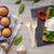 baguette · primer · plano · jamón · lechuga · tomates · madera - foto stock © peteer