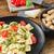 ravioli · fesleğen · pesto · kiraz · domates · gıda - stok fotoğraf © Peteer