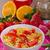 cornflakes · bes · vruchten · glas · aardbei · ontbijt - stockfoto © peteer