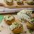 Mushrooms stuffed with cheese stock photo © Peteer