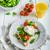 taze · sağlıklı · kahvaltı · yumurta · salata - stok fotoğraf © Peteer