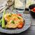 csirkemell · zöldség · gyümölcs · étel · háttér · asztal - stock fotó © peteer