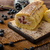 Sponge roll stuffed with strawberry cream stock photo © Peteer