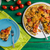 chorizo · tomates · cerises · alimentaire · vert · viande · tomate - photo stock © peteer