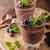 vegan · csokoládé · hab · csokoládé · háttér · desszert · friss - stock fotó © peteer