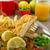 ensalada · tomates · cherry · frescos · alimentos · fondo - foto stock © Peteer