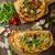 yarım · pizza · plaka · görmek · beyaz · seramik - stok fotoğraf © peteer