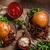 sığır · eti · Burger · domuz · pastırması · patates · kızartması · ev · küçük - stok fotoğraf © Peteer