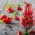 piros · chilli · paprikák · izolált · fekete · stúdiófelvétel - stock fotó © peteer