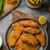 breaded original schnitzel with waldorf salad stock photo © peteer