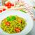 maccheroni · pesto · olio · d'oliva · erbe · dadi · parmigiano - foto d'archivio © peteer