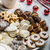 karácsony · sütik · friss · tea · fa · férfi - stock fotó © Peteer