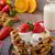 leite · fresco · morangos · bananas · vintage · vidro - foto stock © peteer