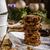 schep · gedroogd · rustiek · houten · geïsoleerd · witte - stockfoto © peteer