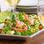 vers · salade · zalm · lam · sla · avocado - stockfoto © Peteer