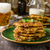 potato pancakes with garlic and beer stock photo © peteer