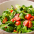 lamb lettuce salad with tomato stock photo © peteer