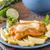 balık · cips · ev · yapımı · lezzetli · pesto · plaka - stok fotoğraf © Peteer