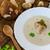 çorba · mantar · yeşil · mavi · plaka · sıcak - stok fotoğraf © peteer