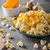queso · amarillo · maíz · aperitivos · primer · plano · blanco - foto stock © peteer
