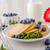 amerikaanse · pannenkoeken · bosbessen · esdoorn · siroop · voedsel - stockfoto © Peteer