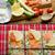 füstölz · lazac · krém · saláta · zöldségek · felszolgált · étel - stock fotó © peteer