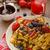 áfonya · eprek · fedett · csokoládé · gyümölcs · háttér - stock fotó © peteer