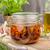 nap · aszalt · paradicsomok · vegetáriánus · étel · gyógynövények · fokhagyma - stock fotó © peteer