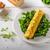 bolyhos · zöldségek · pázsit · bazsalikom · szürke · tányér - stock fotó © peteer