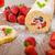 esponja · rolar · morangos · mirtilos · frutas · frescas - foto stock © peteer