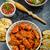hot chicken wings habanero souce salad stock photo © peteer